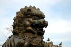 Estatua del león Imagenes de archivo