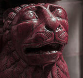 Estatua del león en Italia fotografía de archivo