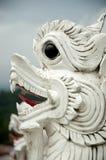 Estatua del león en Tailandia Fotos de archivo