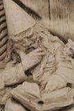 Estatua del mago Imagen de archivo libre de regalías