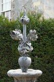 Estatua del metal, abadía de Mottisfont, Hampshire, Inglaterra Fotografía de archivo