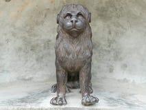 Estatua del metal del león Fotografía de archivo libre de regalías