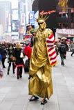 Estatua del Mime de la libertad Fotos de archivo libres de regalías