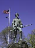 Estatua del Minuteman Foto de archivo