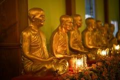 Estatua del monje Imágenes de archivo libres de regalías