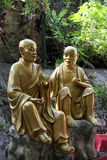 Estatua del monje budista Imágenes de archivo libres de regalías