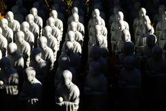 Estatua del monje en Japón Imagen de archivo libre de regalías
