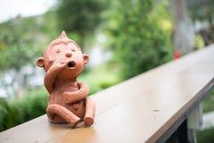 Estatua del mono Fotos de archivo libres de regalías