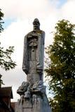 Estatua del monumento de guerra Foto de archivo