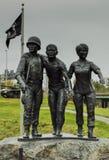 Estatua del monumento del veterano de Vietnam Foto de archivo libre de regalías
