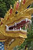 Estatua del Naga Fotografía de archivo