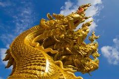 Estatua del Naga Fotos de archivo