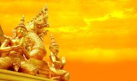 Estatua del Naga Foto de archivo libre de regalías