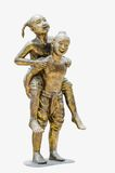 Estatua del niño Foto de archivo libre de regalías