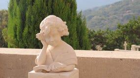 Estatua del niño Imagen de archivo