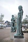 Estatua del og Ofelia, ferrocarril, Helsingor de Hamlet foto de archivo libre de regalías