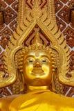 Estatua del oro de Buda Fotografía de archivo