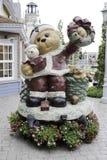 Estatua del oso Foto de archivo libre de regalías