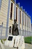 Estatua del papa Juan XXIII Imágenes de archivo libres de regalías