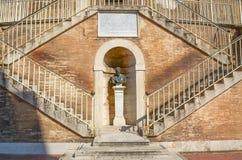 Estatua del papa Pablo VI Fotografía de archivo