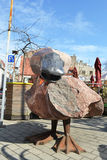 Estatua del pato Imagenes de archivo