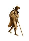 Estatua del peregrino en la catedral de Speyer Imagen de archivo libre de regalías