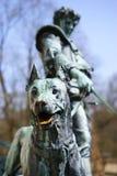 Estatua del perro del castillo, Imagen de archivo