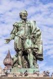 Estatua del pintor Peter Paul Rubens Foto de archivo libre de regalías