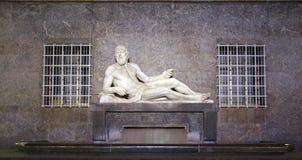 Estatua del Po, Turín Imagenes de archivo
