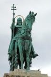 Estatua del primer rey de Hungría Fotografía de archivo libre de regalías