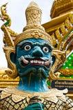 Estatua del protector del demonio Foto de archivo