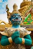 Estatua del protector del demonio Imagen de archivo libre de regalías