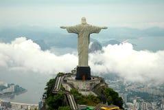 Estatua del redentor de Cristo Fotografía de archivo