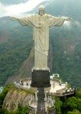 Estatua del redentor de Cristo Fotos de archivo libres de regalías