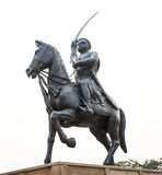 Estatua del rey foto de archivo libre de regalías