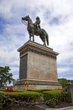 Estatua del rey rama5 Imagen de archivo libre de regalías