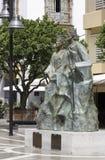 Estatua del rey y de la reina católicos Fotos de archivo