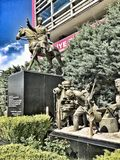 Estatua del rk del ¼ de Atatà imagen de archivo libre de regalías
