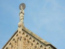 Estatua del sacerdote Fotos de archivo