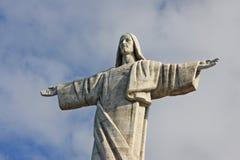 Estatua del salvador en Madeire Imagen de archivo libre de regalías