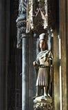 Estatua del santo Imágenes de archivo libres de regalías