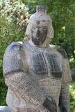 Estatua del soldado Fotos de archivo