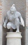 Estatua del soldado griego Fotos de archivo libres de regalías