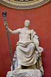 Estatua del Vaticano Mueum Imagen de archivo