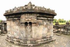 Estatua del vishnu de dios en el templo hindú Sambisari fotos de archivo libres de regalías