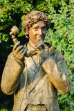 Estatua durante el festival internacional de estatuas vivas Imagen de archivo libre de regalías
