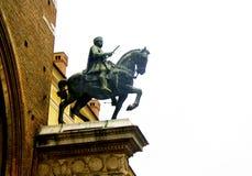 Estatua ecuestre fotografía de archivo