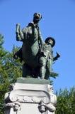 Estatua ecuestre Fotografía de archivo libre de regalías