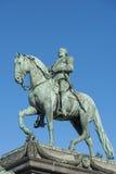 Estatua ecuestre de rey Gustav II Adolf Stockholm Foto de archivo