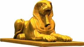 Estatua egipcia ilustración del vector